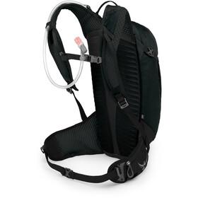 Osprey Siskin 12 Hydration Backpack Obsidian Black